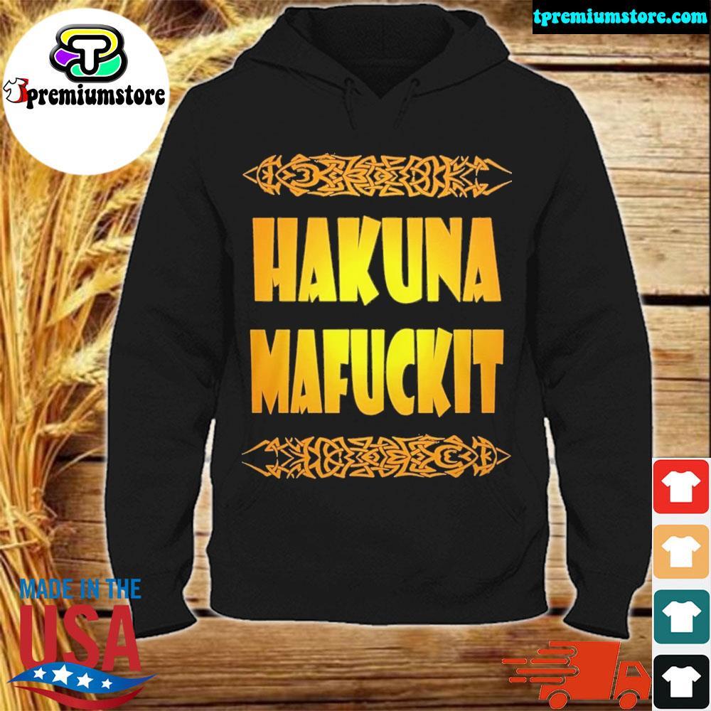 Official hakuna mafuckit s hodie-black