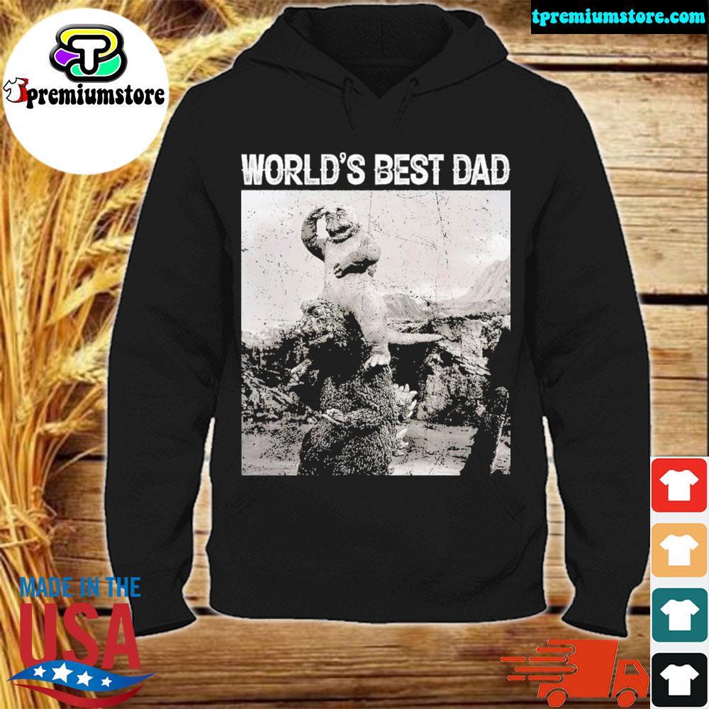 Son of godzilla world's best dad s hodie-black