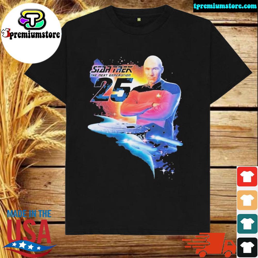Star trek 25th adult pullover shirt